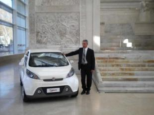 auto elettrica all ara pacis