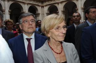 Emma Bonino e Flavio Zanonato