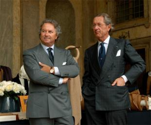 Pier Luigi Loro Piana left Sergio Loro Piana right JLT
