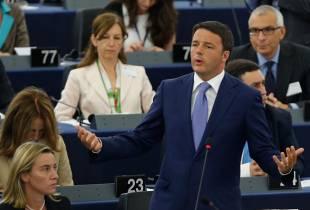 renzi parlamento europeo mogherini