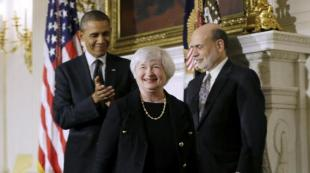 BERNANKE YELLEN OBAMA