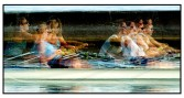 The rowers - Toronto 2004. An example of photo impressionism.