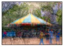 One of my favourite examples of photo impressionism; a carousel on the Washington Mall photographed using the in the round montage technique. © Stephen D'Agostino.