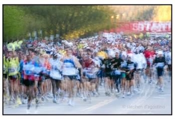The marathoners - Toronto © Stephen D'Agostino