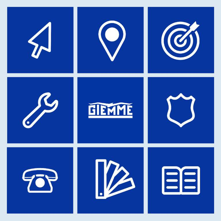 Icone sito web Giemme