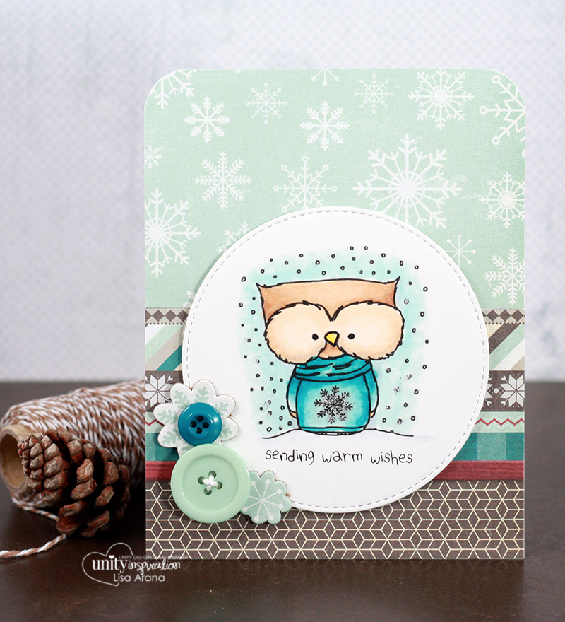 dahlhouse designs | 11.2015 warm wishes owlie
