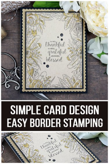 Sharing a simple card idea with easy stamping with a tutorial & quick video. The images are from the Hello Sweetheart Bouquet Unity Stamp Company stamp set. More inspiration on dahlhouse-designs.com. #cardmaking #cardmaker #cardmakingideas #cardinspiration #simplecards #cards #stamping #dahlhousedesigns #unitystampco #handmadecards #diecutting #diy #carddesign #cardcraft