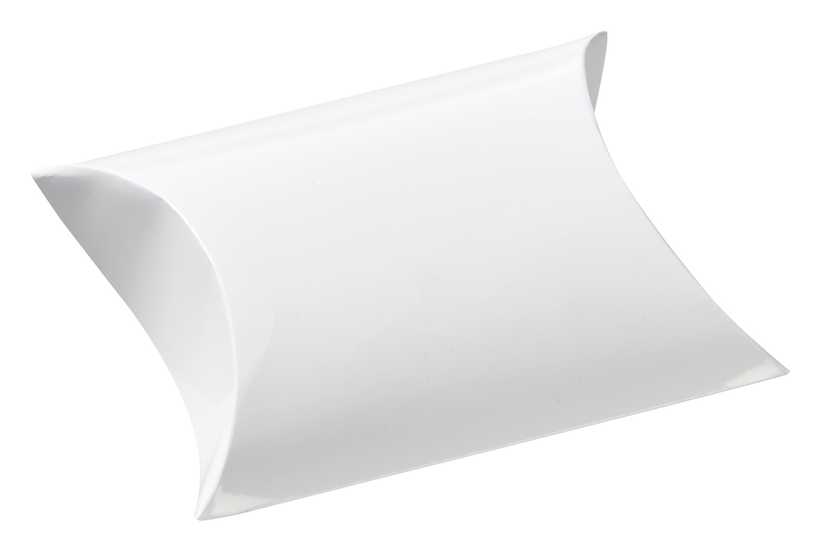pillow boxes medium white glossy without imprint