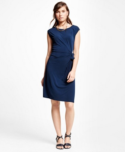 brooks brothers jersey knit dresses