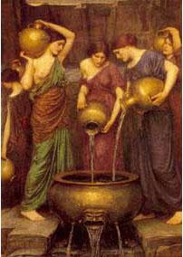 John William Waterhouse, Danaide (Olje na platno, 1904)