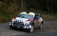 Cave Shows Rally Pedigree Before Wheel Issue Forces Retirement