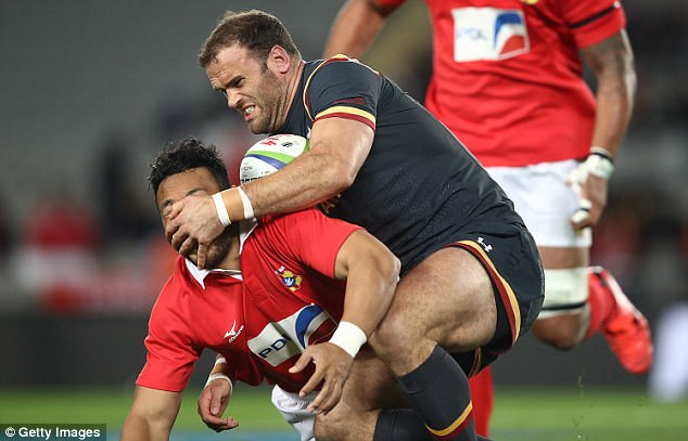 Cuthbert Strikes As Wales Come Through Tonga Test