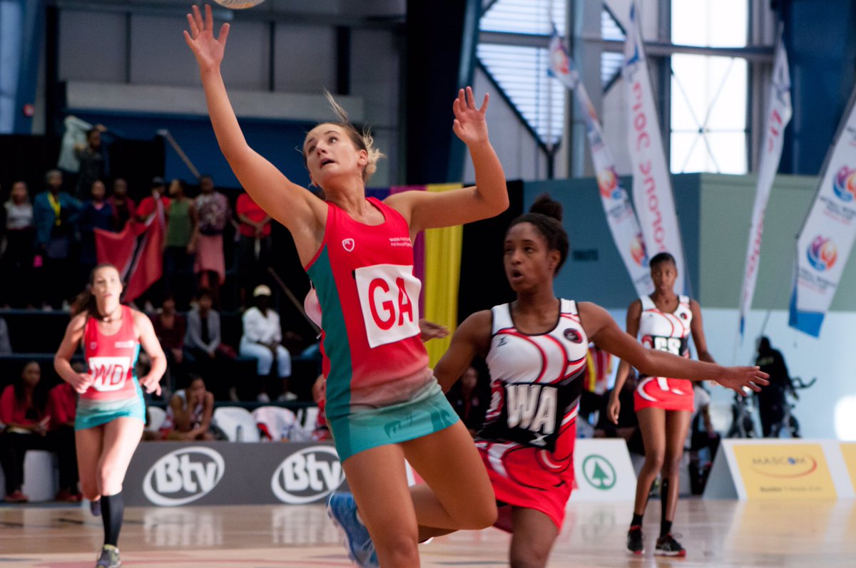 Wales Battle For Big World Netball Finish In Botswana