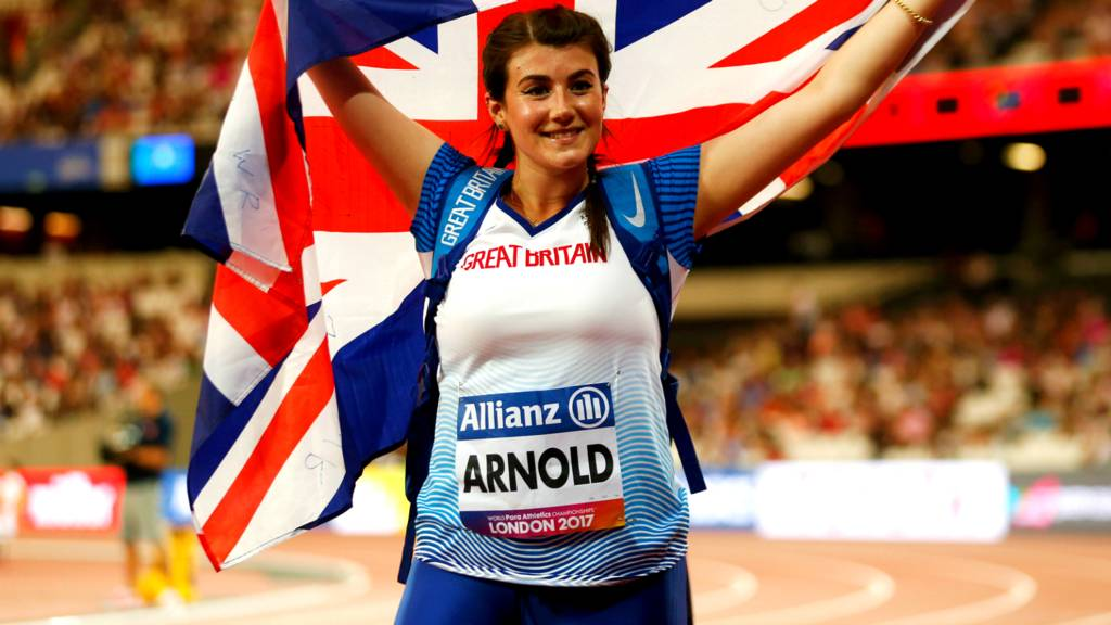Hollie Arnold Looks To More Gold In Japan And Throwing 50 Metres