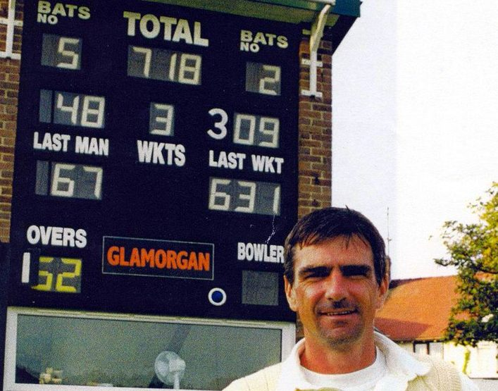 When Glamorgan Made Hay in Colwyn Bay And Steve James Hit 309 Not Out