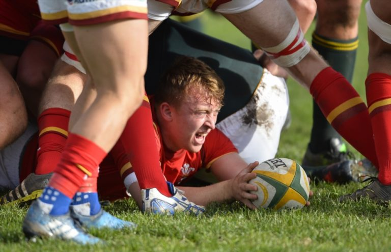 Cai Evans Does Wales Proud - And Dad Ieuan, Even Prouder