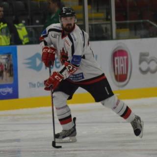Cardiff Fire's Slovakian ace Robert Sedlak.