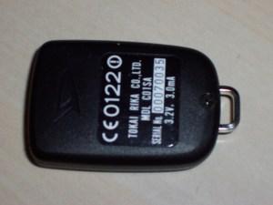 2 Button key fob (YRV)   Daihatsu Drivers Club UK