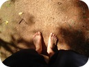 靴下を履くタイミング