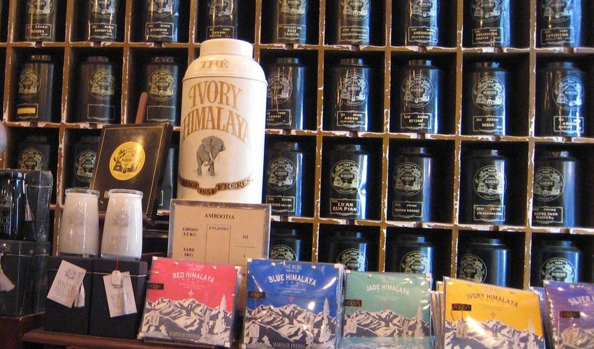 [紅茶] マリアージュフレールの銀座本店にお土産を買いに行ってみた
