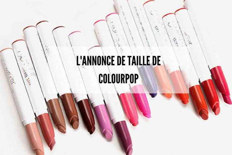 Colourpop crée la surprise avec la livraison internationale