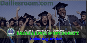 2015/2016 FUNAI Post UTME Online Registration