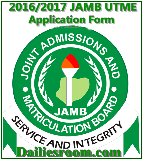 JAMB 2016 Registration Update for all Student - www.jamb.gov.ng