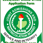 2016/2017 JAMB UTME Application Form