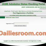 How To Check JAMB Admission Status on JAMB website