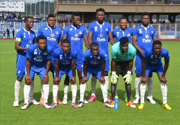 Enyimba FC wins Nigeria Premier League trophy for 7th Time