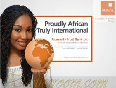 GTBank Mobile Internet Banking App For Blaberry - How to Apply for GTBank Internet Banking service