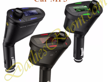 New Car Kit MP3 Player Wireless FM Transmitter Modulator USB SD MMC LCD Remote