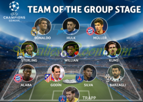 UEFA Champions League team of the group stage