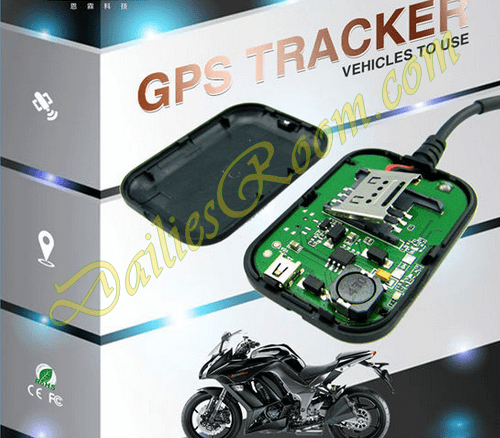 small motorcycle vehicle gps tracking device
