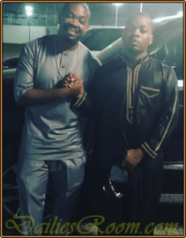Olamide and Don Jazzy reconciles Finally - The Headies 2015