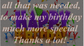 Inspirational Birthday messages Reply to Birth Day wisher