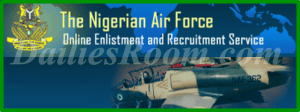 How To Apply Nigerian Air Force Application Recruitment