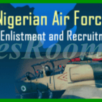 Nigerian Air Force Recruitment Exercise For Airmen/Airwomen Begins Today – Apply Now