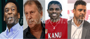 PELE, Zico, Nwankwo Kanu &  Ronaldo Retired Top 48 football legend worldwide By IFFHS