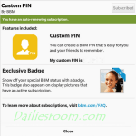 How to Create a BBM Custom PINs for Android, iPhone & BlackBerry