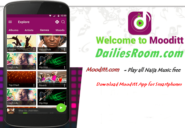 Download Mooditt App - banner