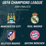 UEFA Champions League Semi-finals Draw List, Comments & Gist