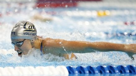 Dana Vollmer, First American female swimmer to win Gold Medal After Giving Birth