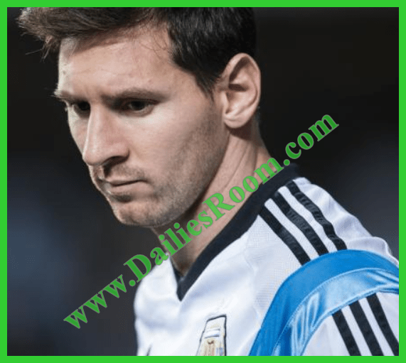 Messi Makes international retirement