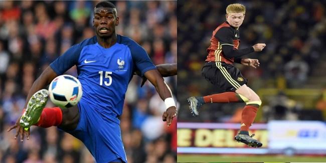 List of Top Best Midfielders at UEFA EURO 2016 Pogba, De Bruyne