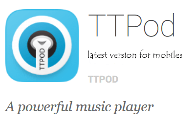 TTPod latest version