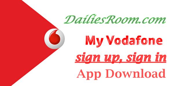 Vodafone sign up, sign in, My Vodafone App Download - buy credit online,