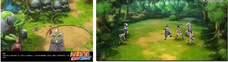 how to play naruto online