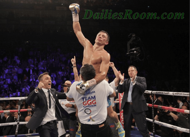 Golovkin vs. Jacobs fight Order By WBA