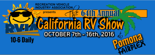 The 64th Annual CALIFORNIA RV Show - Win A Trip To Pirate Cove